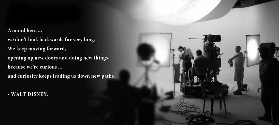 creative bone video production walt disney quote
