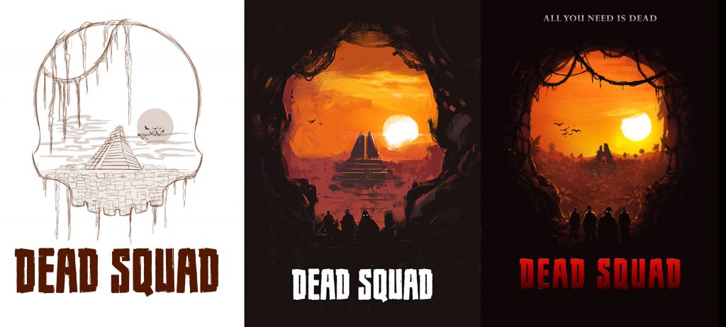 creative-bone-dead-squad-movie-poster-design-process